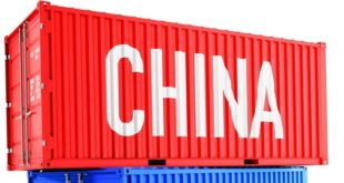 Goods import from China